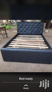 Black and White Bed for Sale With Free Delivery | Furniture for sale in Greater Accra, Accra new Town