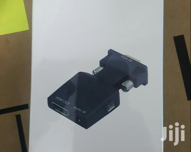 Archive: Video Adapter # VGA To HDMI Adapter With Audio