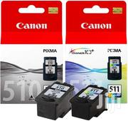 Canon Pg510 Cl511 Ink Cartridges Pg510 Cl511 Mp250 Mp495 Mx360 | Computer Accessories  for sale in Western Region, Shama Ahanta East Metropolitan
