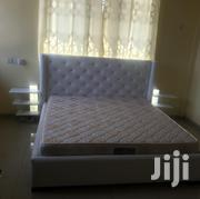 All Pure White Bed | Furniture for sale in Greater Accra, East Legon