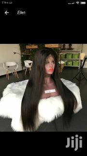 28 Inches Brazilian Remy Virgin Human Hair Wig Cap With Ear To Ear | Hair Beauty for sale in Greater Accra, Kwashieman