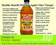 Organic Apple Cidar Vinegar | Vitamins & Supplements for sale in Greater Accra, Burma Camp