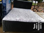 Quality Double Leather Bed | Furniture for sale in Greater Accra, Adenta Municipal