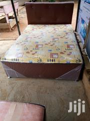 Comfortable Double Leather Bed | Furniture for sale in Greater Accra, Adenta Municipal