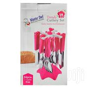 Masterchef Cutlery Set 24pcs Ka-015 Swastik | Kitchen & Dining for sale in Greater Accra, Abelemkpe