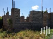 Half Plot Of Land With Uncomplited Building For Sale | Land & Plots For Sale for sale in Greater Accra, Ledzokuku-Krowor