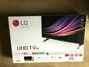 Lg UHD Smart Satellite TV 49 Inches | TV & DVD Equipment for sale in Greater Accra, East Legon
