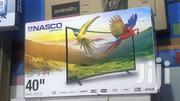 "Nasco 40"" Smart Digital Satellite LED TV 