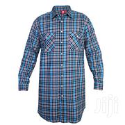 Plaid Long Sleeve Shirt, Engelbert Strauss, Extra Long | Clothing for sale in Greater Accra, Kwashieman