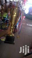 Soccer Football Trophy Cup   Sports Equipment for sale in Korle Gonno, Greater Accra, Ghana