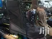 Black Leather Military Combat Boots | Shoes for sale in Greater Accra, Ga East Municipal