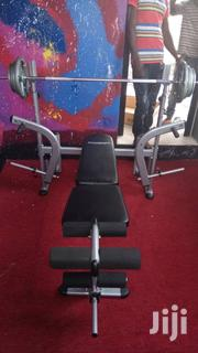 Bench And Barbell | Sports Equipment for sale in Greater Accra, Odorkor