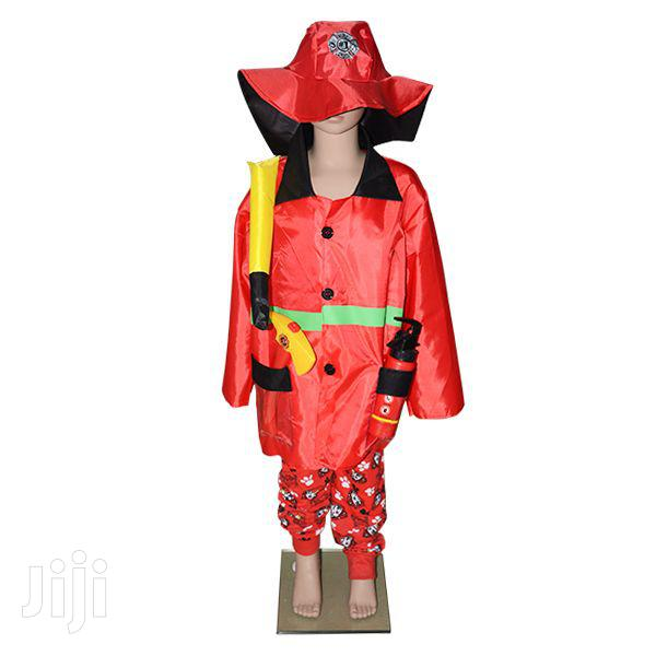 Fireman Party Costume for Kids