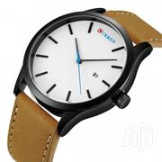 Unique Designed Stylish Leather Men Watch | Watches for sale in Greater Accra, Achimota