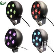6 Led Wash Effect Portable Par Light Auto Sound Activation Christmas | Home Accessories for sale in Greater Accra, Roman Ridge