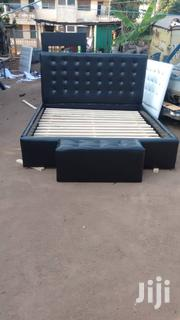 Black Bed Queen | Furniture for sale in Greater Accra, Achimota
