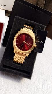 Nixon Timeteller Gold/Red | Watches for sale in Greater Accra, Adenta Municipal