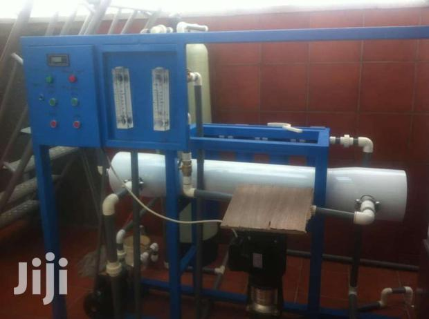 We Install Treatment Water Plant