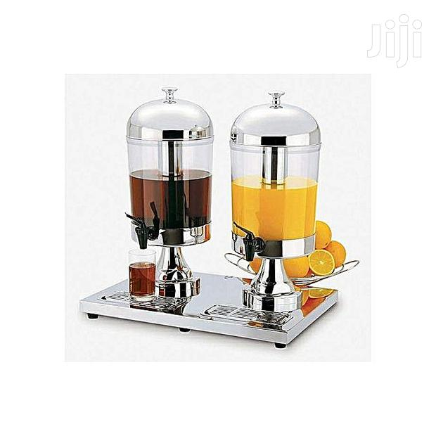 Archive: 16 Gallons Double Beverage Dispenser