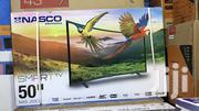 "Nasco 50"" Smart Curved Fhd Satellite Digital LED TV 