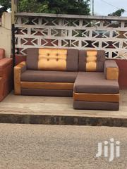 Authentic Material L Shaped Sofa For Sell. | Furniture for sale in Greater Accra, Labadi-Aborm