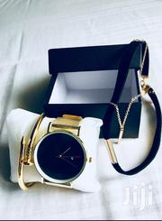 FREE Bracelet FREE Necklace A Luxury Stainless Steel Watch   Watches for sale in Greater Accra, Achimota
