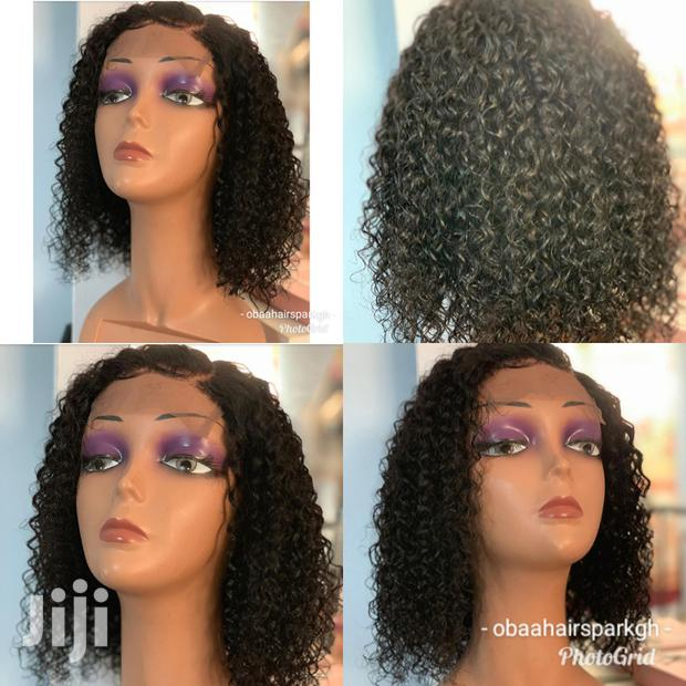 "Archive: Wet Curls 12""10"" Closure Wig Cap"