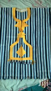 Unisex Kente Jeans Top | Clothing for sale in Greater Accra, Adenta Municipal