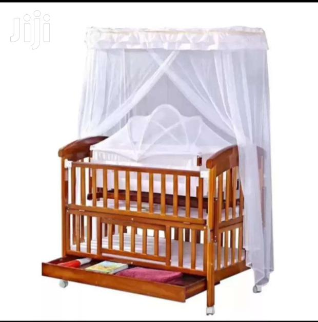 Archive: Wooden Baby Cot