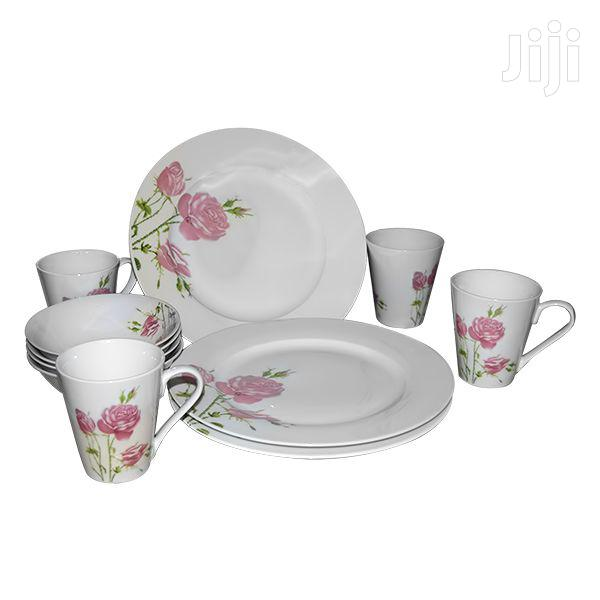 Avios Dinner Set Porcelain Decal 12pcs
