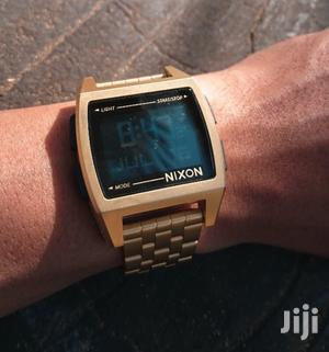 Nixon Digital Gold Watch