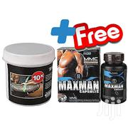 Bazouka 10x Manhood Enhancing Cream + Free Max Man II Penis Enlargemen | Sexual Wellness for sale in Greater Accra, Accra Metropolitan
