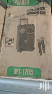 Loud Speaker With Two Microphones | Audio & Music Equipment for sale in Greater Accra, North Kaneshie