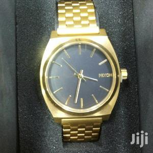 Nixon Chain Watch GOLD