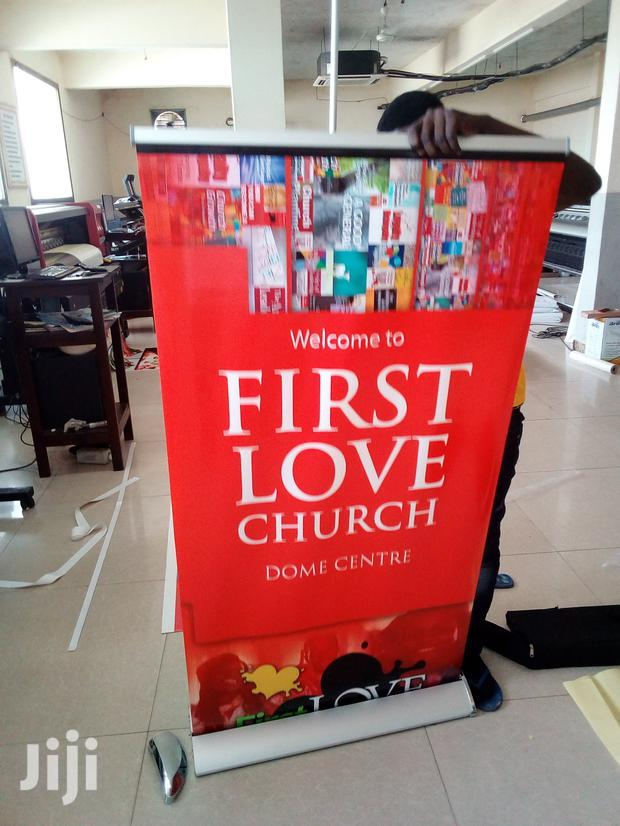 Affordable Pull-up Banner Printing
