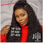 "16"" Closure Cambodian Wet Curls Cap 