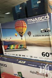 Clear View_nasco 60inch Uhd 4K Smart Satellite TV | TV & DVD Equipment for sale in Greater Accra, Accra Metropolitan