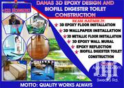 Danas 3D Epoxy Design and Biofill Digester Toilet Construction | Home Accessories for sale in Central Region, Agona West Municipal