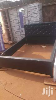 Hot Cake! Pure Black Double Bed For Sell | Furniture for sale in Greater Accra, East Legon (Okponglo)