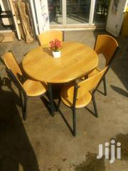 Quality 4 Seater Wooden Dining Set | Furniture for sale in Greater Accra, Kwashieman