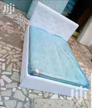 White Bed Frame and Mattress   Furniture for sale in Greater Accra, Burma Camp