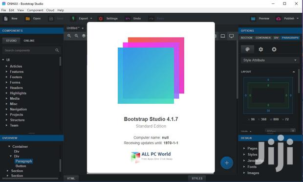 Bootstrap Studio For Mac And Windows