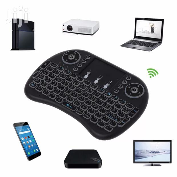 Wireless Keyboard And Touchpad
