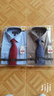 Colours Alexander Julian Long Sleeves Shirt With Tie | Clothing for sale in Greater Accra, Ga East Municipal