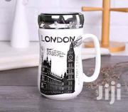 Ceramic Mug With Mirror Lid | Kitchen & Dining for sale in Greater Accra, Alajo