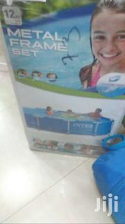 Swimming Pool 12ft New Metal Frame Intex | Sports Equipment for sale in Greater Accra, South Shiashie