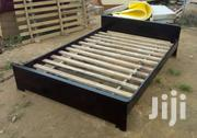 Dark Simple Bed | Furniture for sale in Eastern Region, Asuogyaman