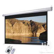 Electronic Projector Screen 180×180cm | TV & DVD Equipment for sale in Greater Accra, Burma Camp
