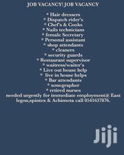 Experience Security Guards | Security Jobs for sale in Greater Accra, East Legon