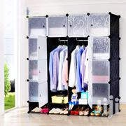 Plastic Wardrobe 16cubs With Shoe Rack   Furniture for sale in Greater Accra, Agbogbloshie